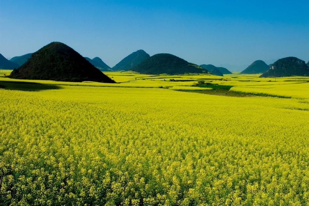 鲁布革小三峡碧波荡漾,多依河省级名胜风景区风光绮丽,民族风情浓郁.